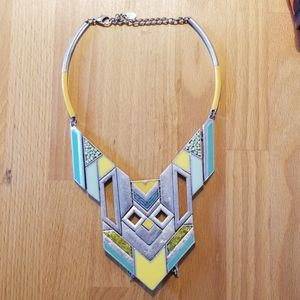 Azteck inspired necklace